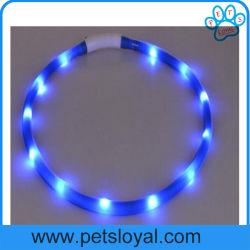 Accessoires pour animaux de compagnie à bas prix de gros d'usine LED Collier pour chien pet