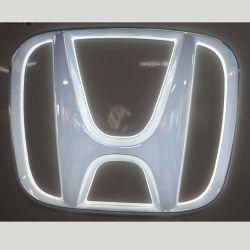 Coche de iluminación LED signo el logotipo de la caja de luz