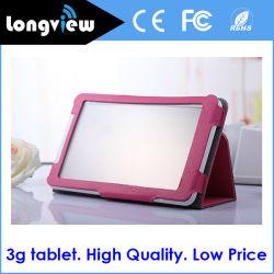 7 pulgada de Mtk6572 teléfono móvil 3G 8GB Tablet PC con doble ranura para tarjetas SIM