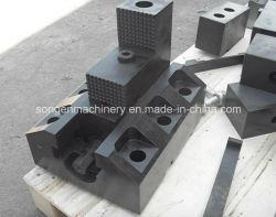 300x180mm 2-PC aburrido mandíbulas molino