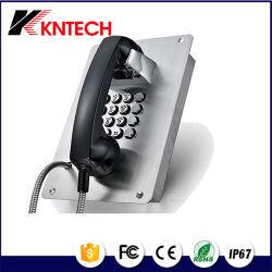 Telefono SUS audio impermeabile di emergenza Telefono IP per ascensore