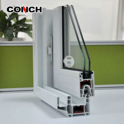محارة 88 الانزلاق النافذة PVC / UPVC الملف الشخصي