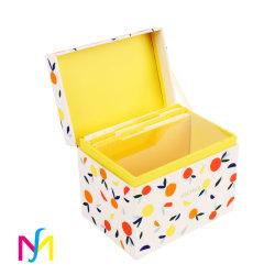 자석 마감 마분지 화장품 상자를 포장하는 종이를 인쇄하는 관례