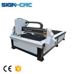 Preiswertes Schreibtisch-Plasma-metallschneidende Maschine für starkes Metall