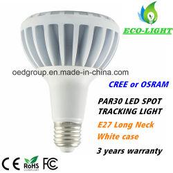 3 лет гарантии длинной шее со светодиодными индикаторами или початков Osram 20Вт Светодиодные PAR30 светодиодные лампы