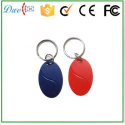 Tk4100 125kHz EM-IDENTIFIKATION Nähe RFID Keyfob mit Kartennummer druckte eine Jahr-Garantie-Zugriffssteuerung Keytag