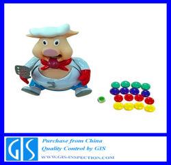 Pre-Shipment Inspectie voor Stuk speelgoed---Varken in China