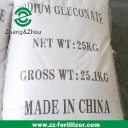 Gluconate98% Min 나트륨 콘크리트 혼합물