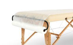 Rullo non tessuto a perdere bianco del coperchio di base perforato