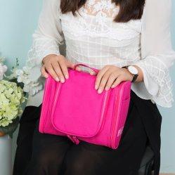 Neuer große Kapazitäts-Familien-Arbeitsweg-imprägniern der hängenden Toilettenartikel-Verfassungs-Beutel-Frauen Handtaschen-Mann-Kosmetik-Beutel