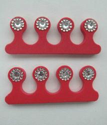 Diverses formes d'une éponge de séparateurs de clou de la TOE