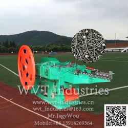 La Chine usine Prix de gros fil haute vitesse automatique Making Machine/bobine d'ongles nail machine/machine de torsion à filetage par roulage
