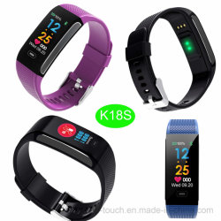 Nouveau développé Bluetooth Bracelet avec mesure de pression artérielle K18s