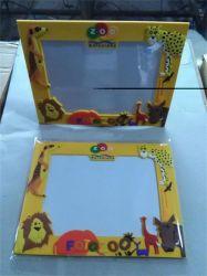 Высокое качество пластика рекламных подарков 3D рамка для фотографий из ПВХ (PF-040)
