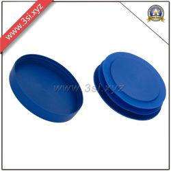 Plastik schrägte PET Enden-dekorativen Rohr-Schutz-Deckel ab (YZF-H160)