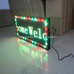 Intérieur/Extérieur DIP P7.62 deux LED de couleur le déplacement des signes
