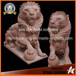 O granito esculpir a pedra Animal para decoração de jardim