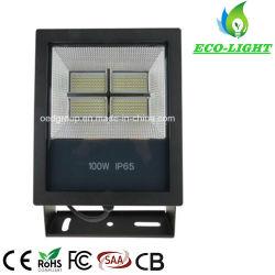 새로운 100W IP65 LED 투광 조명 실외 특수 조명 프로젝션 램프 방수 방음형 라이트닝 보호 품질(5년 보증