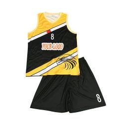 Haute qualité à bas prix College Basketball Jersey ensemble uniforme de basket-ball de gros personnalisé