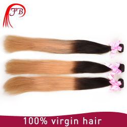 Cheveu droit de bonne qualité en gros de Barzilian Huamn Omber Remy