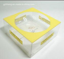 Прядильный кулич Boxes Birthday венчания с Window (пластичная ясная коробка)