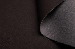 Pulverizar sintético acabado metálico de PVC Cuero PU