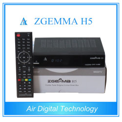 HD DVB T2 DVB S2 DVB C AVEC BCM73625 Hevc Zgemma H5