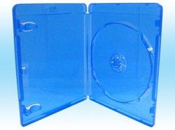 PP matériau vierge 10mm/11mm Rectangle Blue Ray Boîte DVD