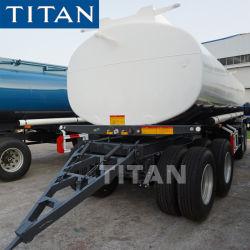 4 Eje Draw-Bar el depósito de combustible para el remolque del vehículo