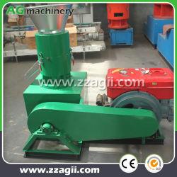 Motor Diesel de pellet de chips de madera dura que hace la máquina de prensa