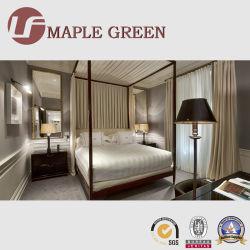 2019 Novo Design Hotel de madeira maciça mobília de quarto de cama