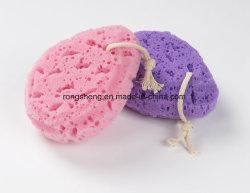자연적인 다채로운 수세미 바디 샤워실 갯솜을 제거한다
