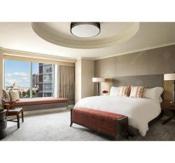현대 호화스러운 파이브 스타 호텔 가구 침실 가구 광고 방송 가구