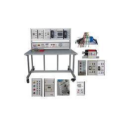 Ze3702 Panel de Control Industrial la formación de equipos didácticos equipo de laboratorio eléctrico