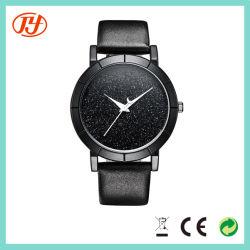 Bracelet cuir Japon Movt Phase lunaire de quartz watch