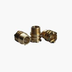 OEM diversas normas latón/racor de metal de aluminio con níquel