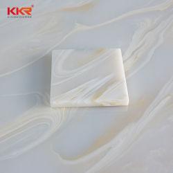 A Kkr Superfície sólida decoração translúcido do painel de resina de Pedra