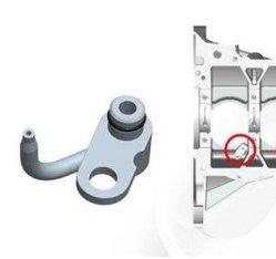 Корпус форсунки охлаждения поршня трубы металлическое кольцо Настроенные на заводе для изготовителей оборудования