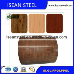 Acciaio galvanizzato ricoperto colore del prodotto di qualità con la pellicola del PVC ricoperta
