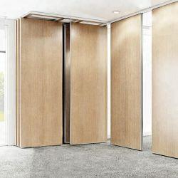 Divisori mobili di legno del MDF di Shaneok per piegatura o l'attaccatura del divisorio dell'ufficio o della stanza