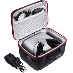 Gc EVA ODM OEM Estojo de viagem organizada Saco de Arrumação para auscultadores Oculus Vá a Realidade Virtual Zipper caso