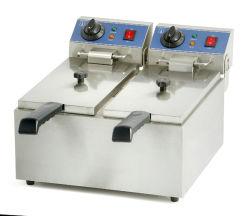 Gainco Ef-102 économe en énergie électrique en acier inoxydable utilisé pour les alevins de poulet Fryer