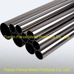 304L/316L Tubo de acero inoxidable 2b el espejo de acero sin costura tubo redondo de Ba 6K 8K el precio de la superficie