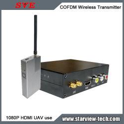Передачи COFDM (мультиплексирование Nlos HDMI беспроводной передатчик видео Uac