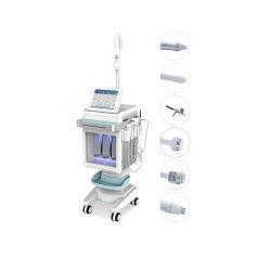 Multifonction 6 en 1 de l'eau de nettoyage à jet d'oxygène le visage de la machine de Peel