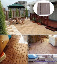 O WPC Deck Pavimento com WPC DIY Madeira Piso composto de plástico telhas