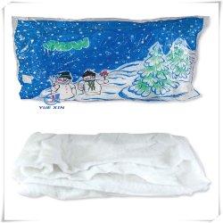 En71 Негорючий Китай производитель рождественские украшения полиэстер снег офсетного полотна