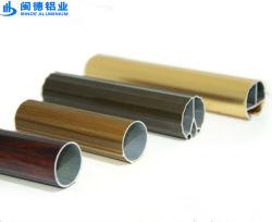 Forme ronde tube en aluminium pour une utilisation quotidienne dans la série 6000 Finition revêtement en poudre
