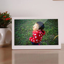 مشغل وسائط عالي الوضوح بإطار الصور الرقمي 15 بوصة مع مشغل إعلانات نظام Android دعم شاشة اللمس إطار الصور الرقمي