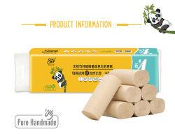 La pulpa de bambú Solf tejido Facial, tejido de rollo